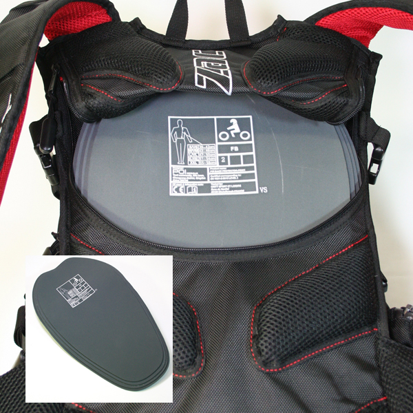 Things don't always go to plan. The Dakar pack comes with a CE certified level 2 back protector that is easily removed/installed via the zipped access panel on the underside of the pack. The Nitrile EVA foam protector conforms to the body shape, maximising comfort and fit over the wearer's full range of motion.